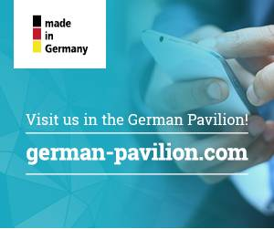 Visit us in the German Pavillion!